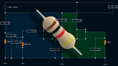 Цветовая маркировка резистора